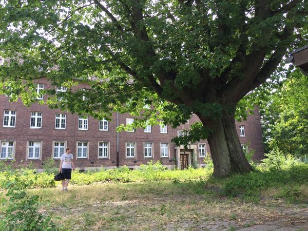 Eindrücke vom Spaziergang über das alte Kasernengelände
